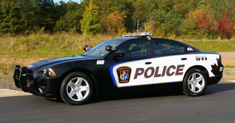 kentville PD Car