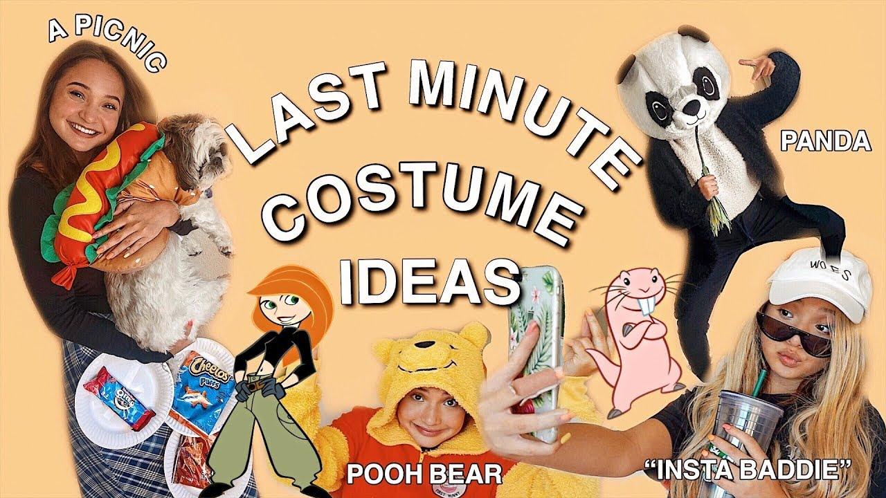 last minute halloween costume ideas |